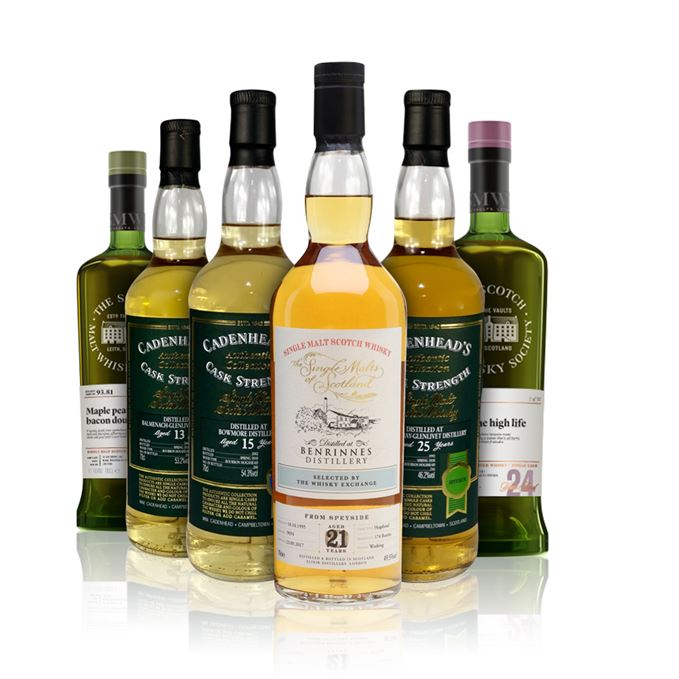 Batch 139: Balmenach, Benrinnes, Bowmore, Glen Moray, Glen Scotia and Glenlossie