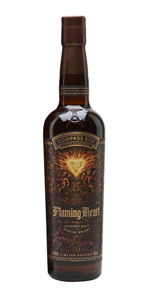 Flaming Heart, 2018 Edition (Compass Box)
