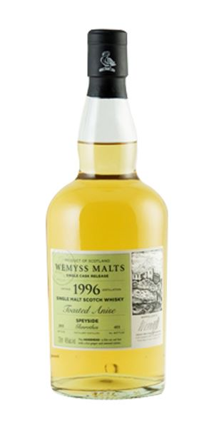 Toasted Anise, Glenrothes 1996 (Wemyss Malts)