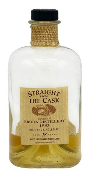 Brora 18 Years Old, Cask #39, Bottled 2001 (Signatory)