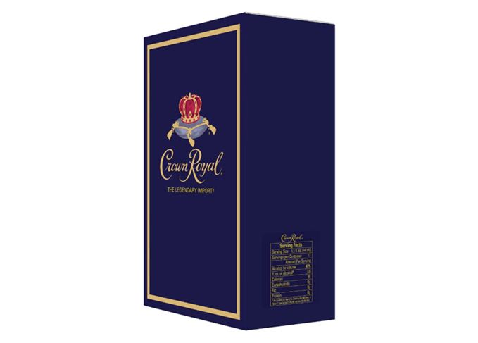 Crown Royal's nutritional information