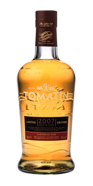 Tomatin 9 Years Old, 2007, Caribbean Rum Cask