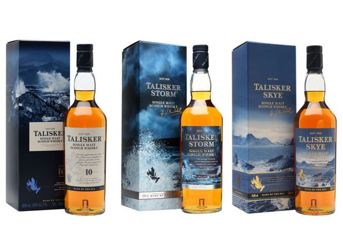 Talisker 10-year-old, Storm and Skye