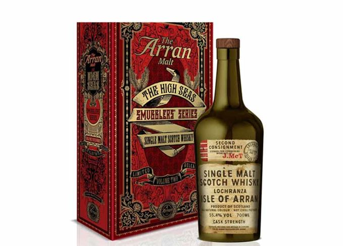 Isle of Arran Distillers Smugglers' Series