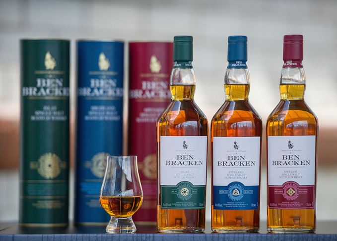 Lidl Ben Bracken whiskies