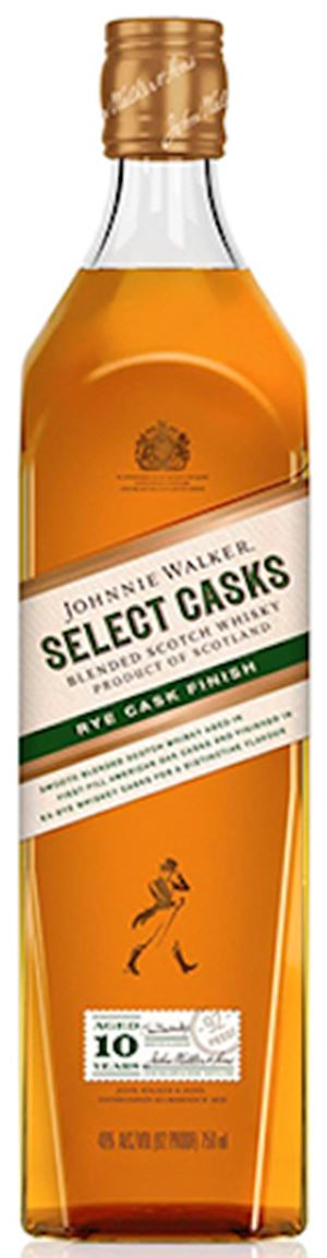 Johnnie Walker Select Casks, Rye Cask Finish, 10 Years Old