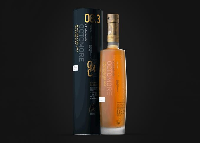 Octomore 08.3 peatiest Scotch