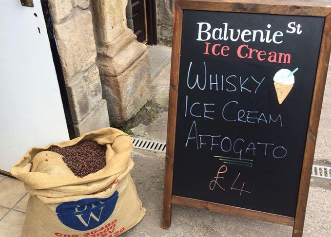 whisky ice-cream