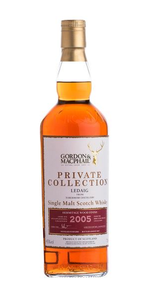 Ledaig 2005 Hermitage Wood Finish (Gordon & MacPhail)
