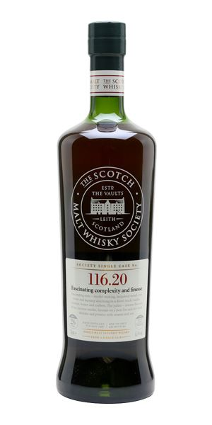 Yoichi 26 Years Old, 'Fascinating complexity and finesse' 116.20 (SMWS)