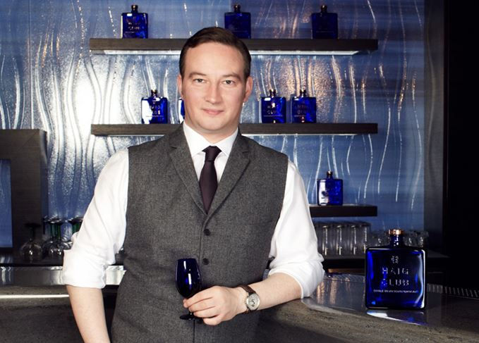 Ewan Gunn, global Scotch whisky master of Haig Club