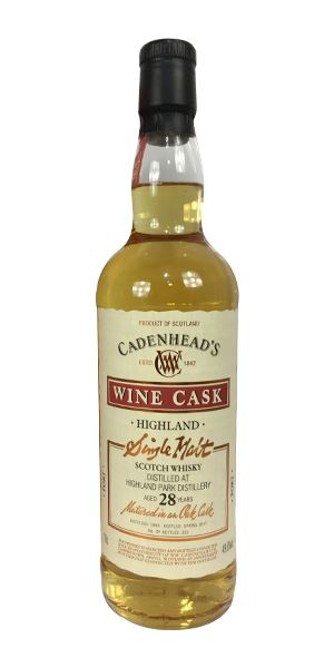 Highland Park 28 Years Old (Cadenhead)