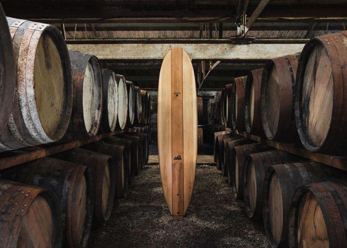 Glenmorangie surfboard