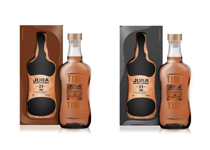 Jura Time and Tide whiskies