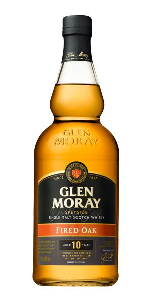 Glen Moray 10 Years Old, Fired Oak