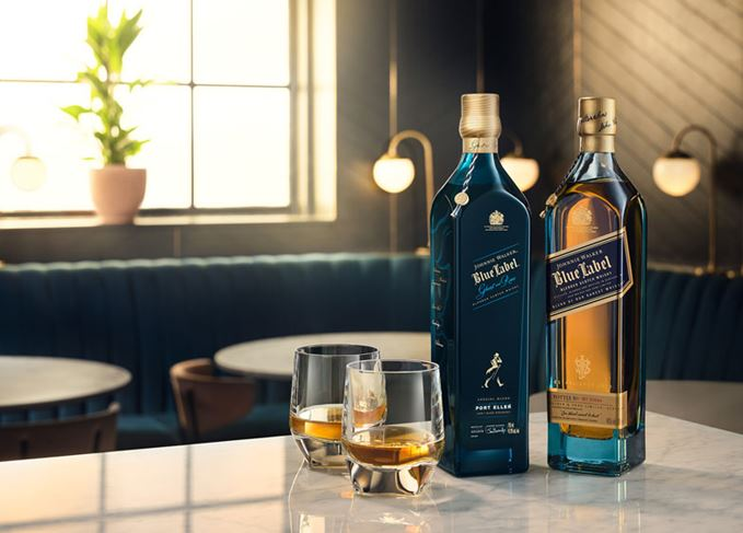 ohnnie Walker Blue Label Ghost and Rare Port Ellen