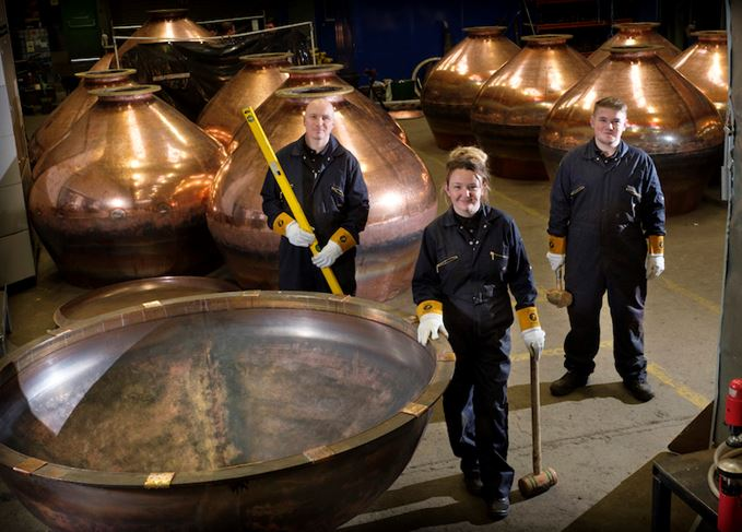 Apprentices Diageo Abercrombie