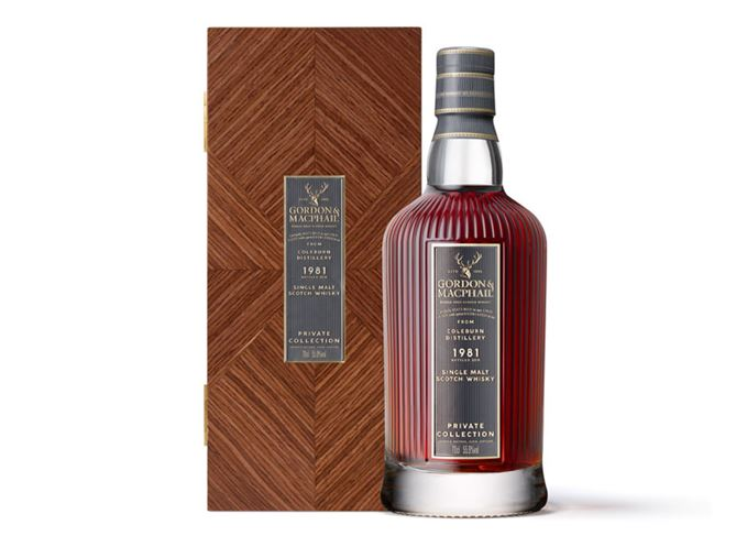 Coleburn 1981 bottling from the Private Collection range at Gordon & MacPhail