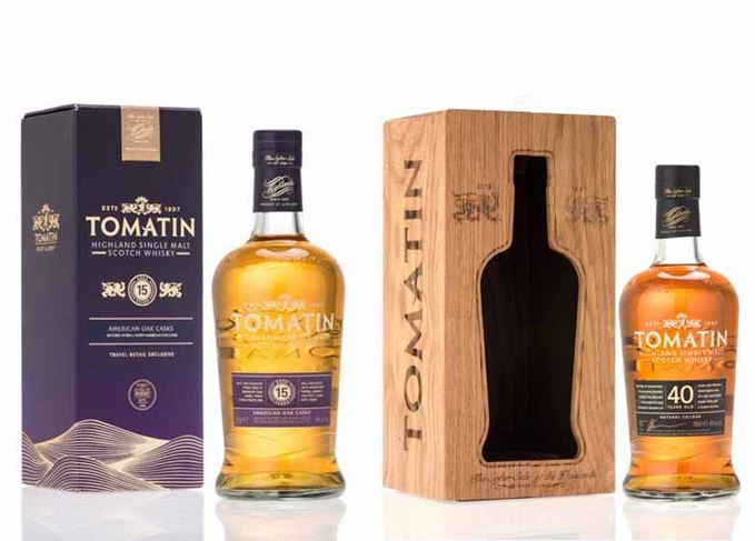 Tomatin travel retail