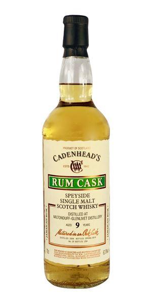 Miltonduff 9 Years Old, Rum Cask (Cadenhead)