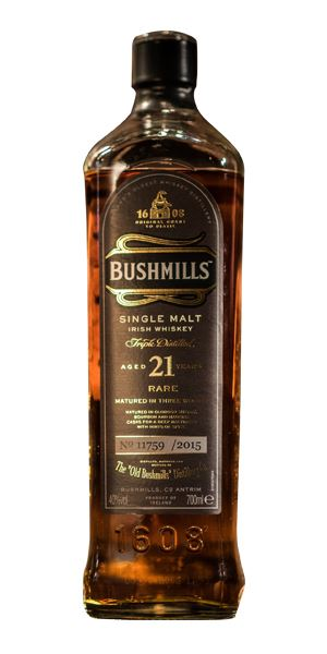 Bushmills 21 Years Old