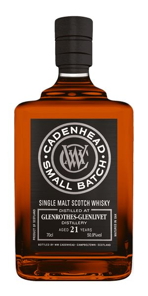Glenrothes 21 Years Old, 1996 (Cadenhead)
