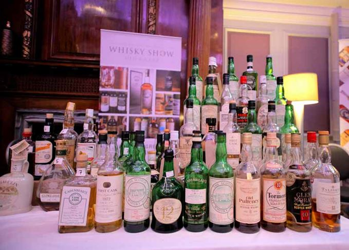 Whisky Show Old and Rare