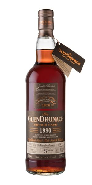 GlenDronach 27 Years Old, 1990, Cask #1014