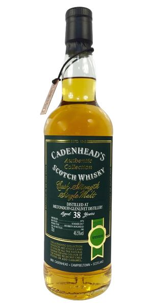 Miltonduff 38 Years Old (Cadenhead)
