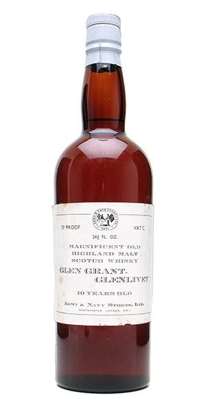 Glen Grant 10 Years Old (Army & Navy)