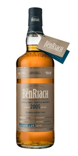 BenRiach Single Cask Batch 14, 12 Years Old (2005), Sherry Cask #2565