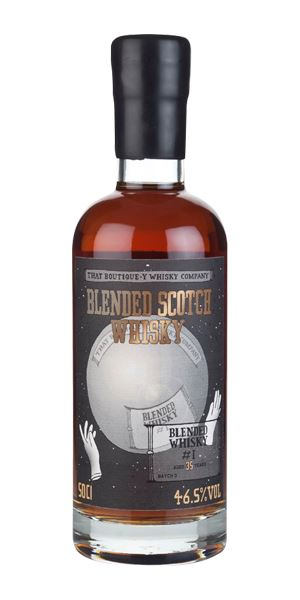Blended Whisky #1, 35 Years Old, Batch 3 (That Boutiquey Whisky Co.)