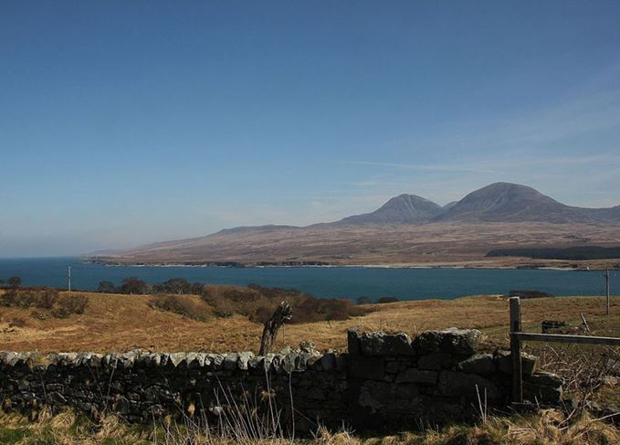 The Paps of Jura attract whisky travellers to the Sound of Islay