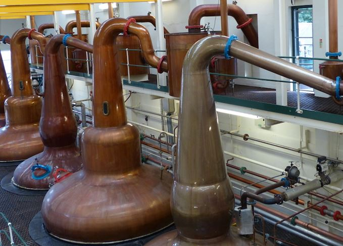 Glen Grant stills and lyne arms