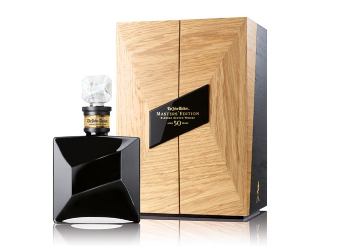 John Walker Masters' Edition 50 Year Old whisky