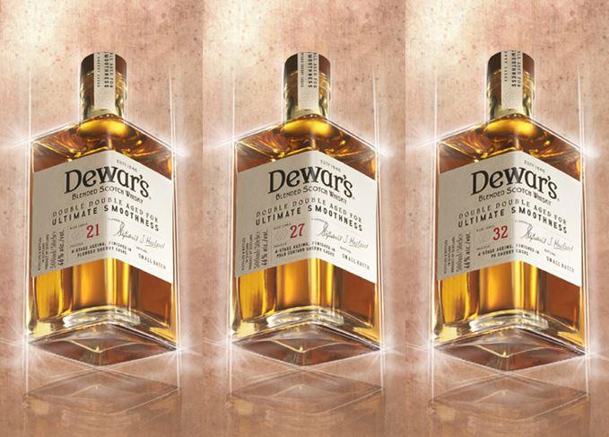 Dewars Double Double whisky range