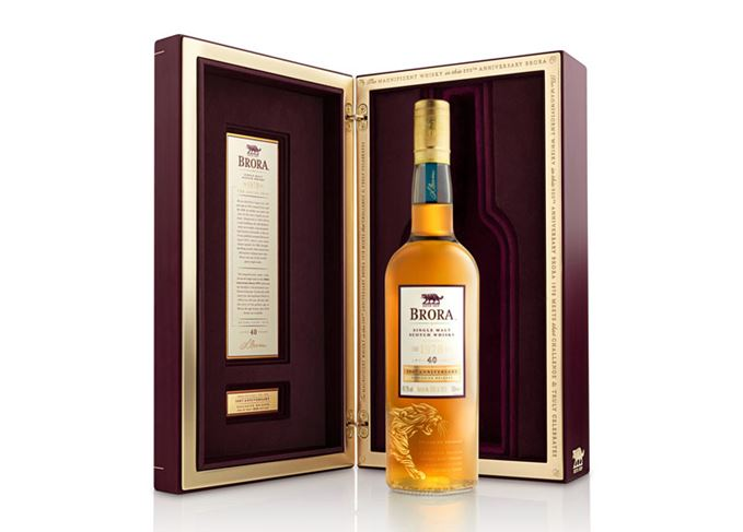 Brora 40 Year Old 200th Anniversary whisky
