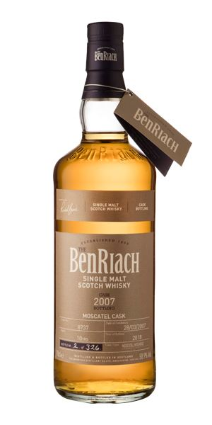 BenRiach 10 Years Old, 2007, Cask #8737