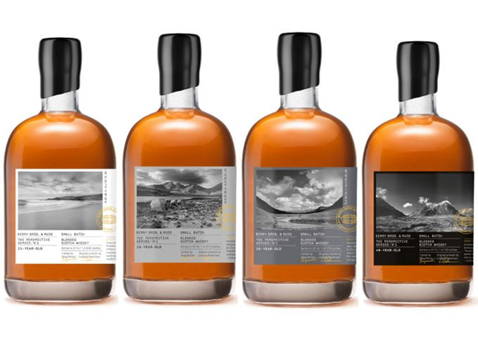 Berry Brothers Perspective Series whiskies