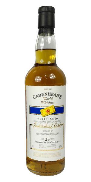 Invergordon 25 Years Old (Cadenhead)
