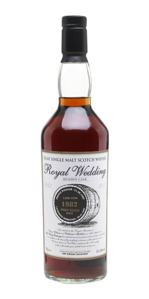 Port Ellen Royal Wedding 1982, Cask #2290 (The Whisky Exchange)