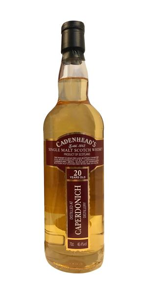 Caperdonich 20 Years Old (Cadenhead)