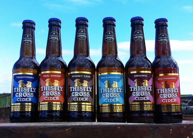 Thistly Cross cider Strathearn brandy