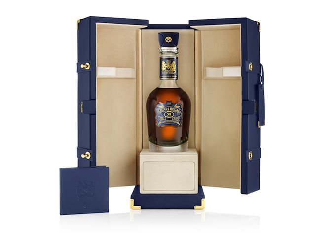 Chivas Regal 50 Year Old The Icon
