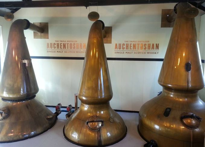 Auchentoshan triple distillation