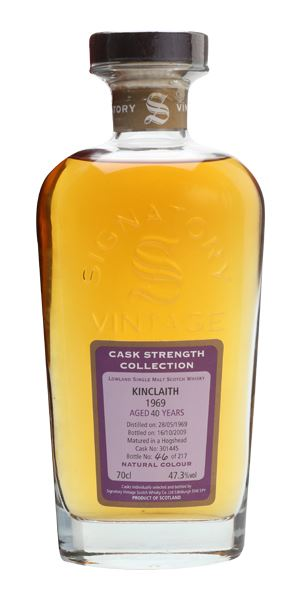 Kinclaith 40 Years Old, Distilled 1969 (Signatory)