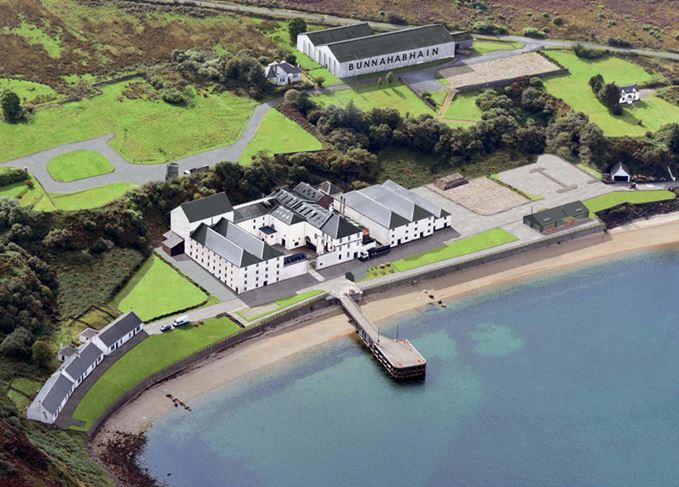 Artist's impression of Bunnahabhain distillery refurbishment