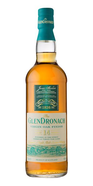 Glendronach 14 Years Old Virgin Oak Wood Finish