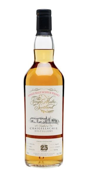 Craigellachie 25 Years Old (Single Malts of Scotland)