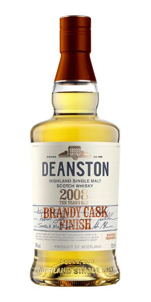 Deanston Brandy Cask Finish, 10 Years Old, 2008